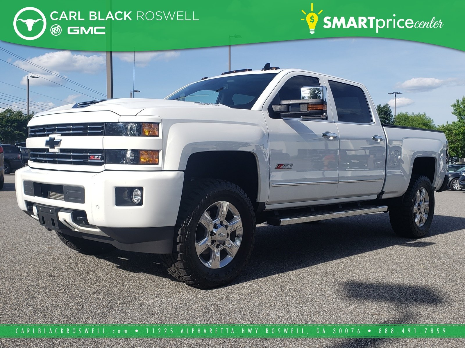 Pre Owned 2017 Chevrolet Silverado 2500hd Ltz