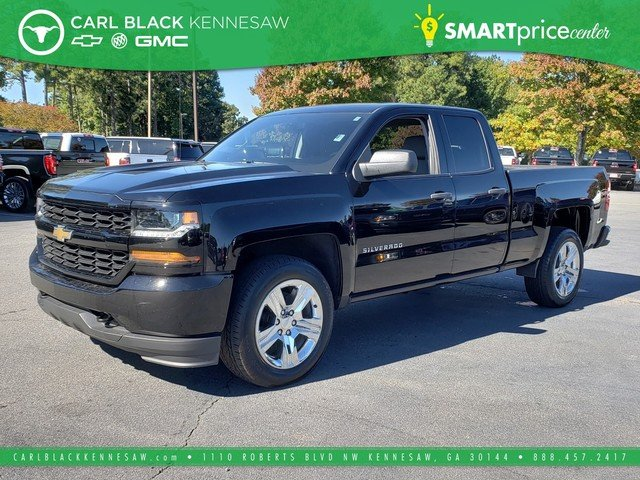 Pre Owned 2017 Chevrolet Silverado 1500 Custom