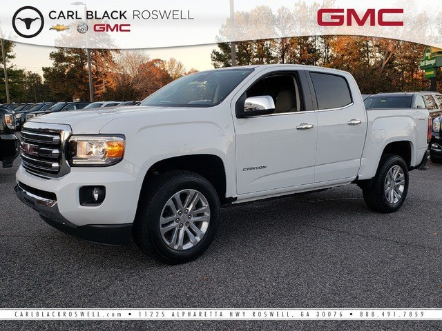New 2019 Gmc Canyon 4wd Slt Crew Cab Pickup In Roswell 2390121