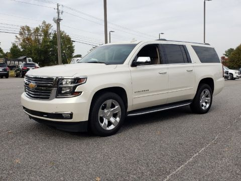 Pre-Owned 2015 Chevrolet Suburban LTZ With Navigation